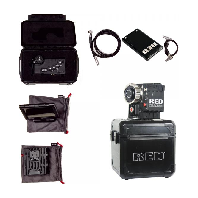 Red Epic-X Dragon Camera kit, 240 hours, Used