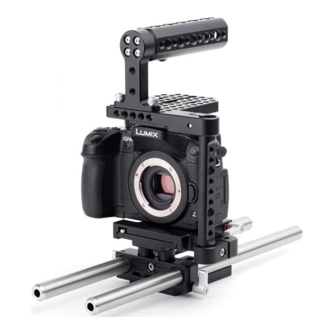 WoodenCamera WC-186300 Basic camera support for the Panasonic GH3, GH4