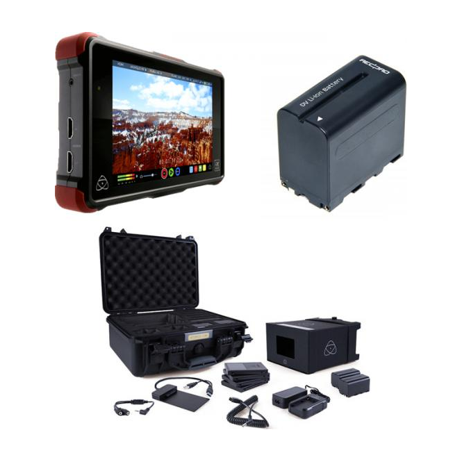 Atomos Ninja Flame 7.1-inch AtomHDR package a