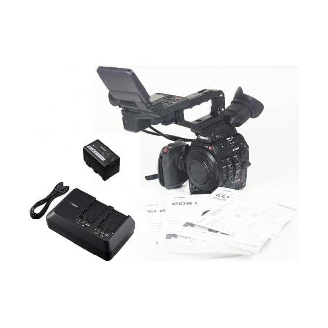 Canon C300 Mk II Camcorder 595 Hours, Used