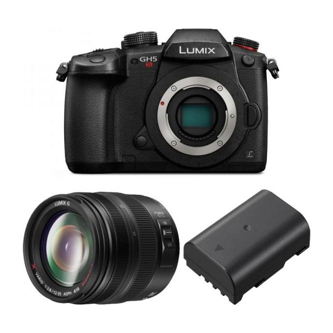 Panasonic DC-GH5S LUMIX G Compact System 4K Mirrorless Camera Package b