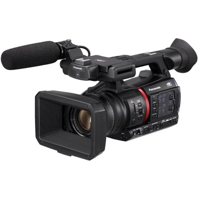 Panasonic PAN-AGCX350EJ Lightweight 4K/HDR 10BIT REC Camera Recorder with Live Streaming