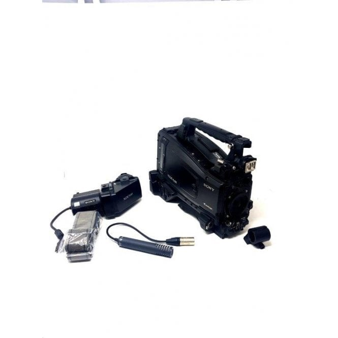 Sony PMW 400L camcorder with CBK-VF01 viewfinder, 1225 Hours, used