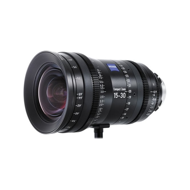 Carl Zeiss 15 - 30mm CZ.2 Compact Zoom Lens (PL Mount, Feet)