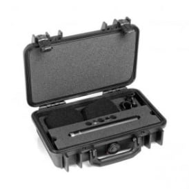 ST4006A, ST4006, A ST4006-A, ST4006/A Stereo Pair w. 2 x 4006A, Clips, Windscreens in Peli Case