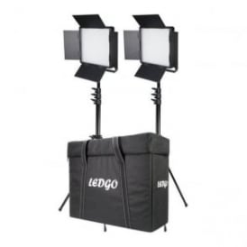 LG-600LK2 2x LG-600SC Daylight Location Lighting Kit