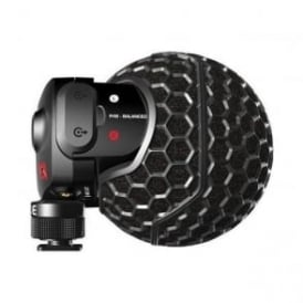 Stereo VideoMic X Broadcast-grade stereo on-camera microphone
