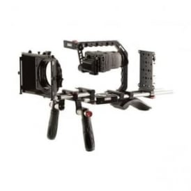 SH-BRGH4ANTON Panasonic GH4 Shoulder Mount Bundle with Gold Mount Battery Plate