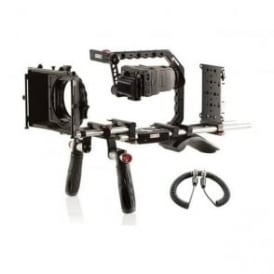 SH-BRGH4IDX Panasonic GH4 Shoulder Mount Bundle with V-Mount Battery Plate