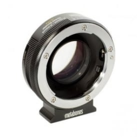 MB_SPA-X-BM2 Sony Alpha to X-mount Speed Booster ULTRA 0.71x Black Matt