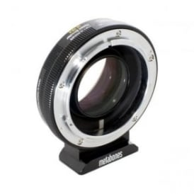 MB_SPFD-X-BM2 Canon FD to X-mount Speed Booster ULTRA 0.71x Black Matt