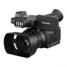 AG-AC30EJ Lightweight 50Mb/s HD camcorder with built-in LED light