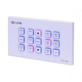 TV1-1T-CL-322-EU Wall-Plate Control Panel
