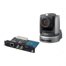 "BRC-H900/IP BRC-H900 1/2"" HD 3CMOS Remote PTZ Camera and BRBK-IP10 IP Control Interface Card"