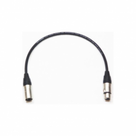 12inch 3Pin Male to Female Xlr Cable
