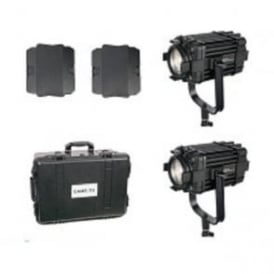 B60-2KIT 2 Pcs Boltzen 60w Fresnel Fanless Focusable Led Daylight