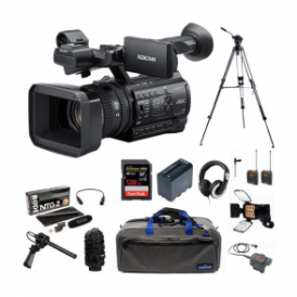 Sony PXW-Z150//C 1.04K Handy Camcorder Package F