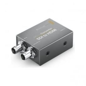 BMD-CONVCMIC/SH Miniaturized broadcast quality SD and HD video converter - SDI into HDMI without Power Supply