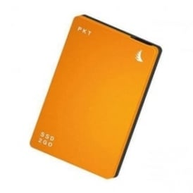 1TB SSD2go PKT USB 3.1 Gen 2 Type-C External Solid State Drive (Orange)