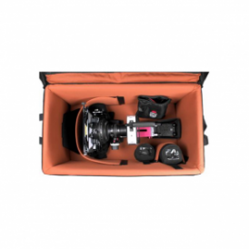 RIG-REDEPICTOR RIG Wheeled Carrying Case Black Medium