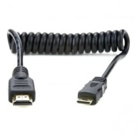 AtomFlex Pro HDMI 2.0 Mini HDMI to Full HDMI 30cm (60cm extended)