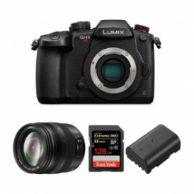 DC-GH5S LUMIX G Compact System 4K Mirrorless Camera Package c