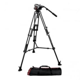 MAN 504HD+546BK Midi 546B Twin Leg Tripod|504HD Video Head