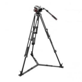 MAN 504HD+546GBK Midi Twin System Tripod|504HD Video Head