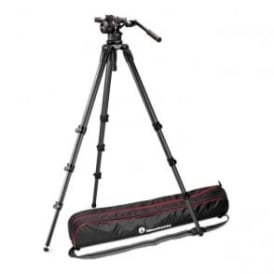 Nitrotech N12 Video Head with CF Tall Single Legs Tripod
