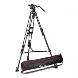 Nitrotech N12 Video Head with Twin Leg Tripod Middle Spreader