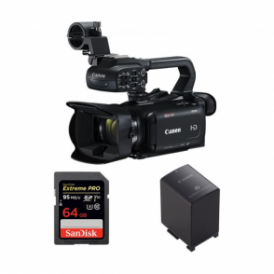 XA15 Compact Full HD professional camcorder package b