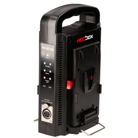 Dual V-Mount Battery Charger and DC Uninterruptible Power Supply