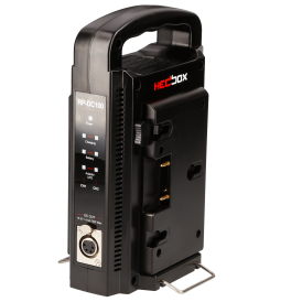 Dual Gold Mount Battery Charger and DC Uninterruptible Power Supply
