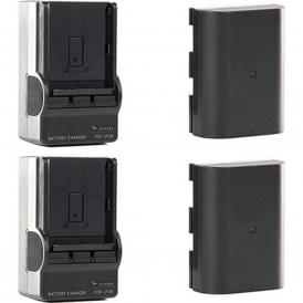 SH-GBLPTS Shill LP-E6 Li-Ion Battery Pack and Charger Kit (2-Pack)
