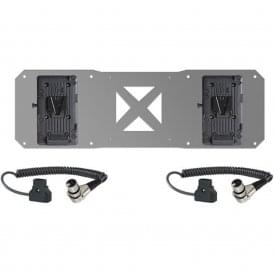 2 x V-Mount Plates & D-Tap Cables for Atomos Sumo