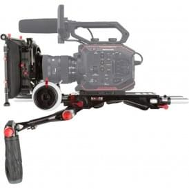 "SH-EVAKIT Panasonic AU-EVA1 Camera Bundle Rig with Follow Focus Pro and 4 x 5.6"" Matte Box"