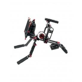 5D4-5KIT Protective Cage For Canon 5D W/ Hand Grip Support
