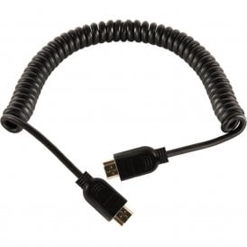 SH-HDMI4K Coiled HDMI to HDMI Cable (24'')
