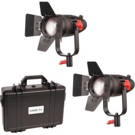F-55W-2KIT 2 Pcs Boltzen 55w Fresnel Focusable Led Daylight