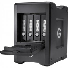 GT-0G10078 G-SPEED Shuttle 4Bay Thunderbolt 3 32TB Black