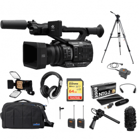 AGUX90 4K Camcorder package F