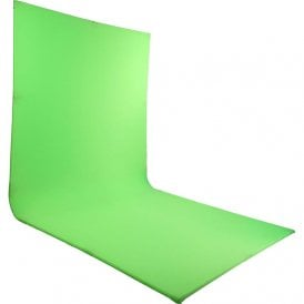 LG-2022L Self standing, L-Shaped curved green screen