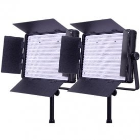 LG-1200BCLK2 2x 1200 Bi-Colour Location Lighting Kit