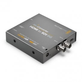 BMD-CONVMBHS24K6G Convert SD, HD and Ultra HD HDMI with HDMI/analogue or AES audio to SDI