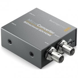 BMD-CONVBDC/SDI/HDMI Simultaneously convert SDI to HDMI and HDMI to SDI in any SD or HD format all at the same time