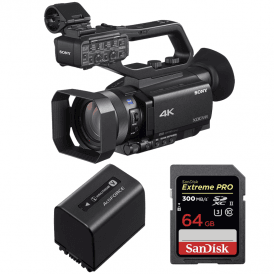 PXW Z90V Compact 4K Camcorder package b