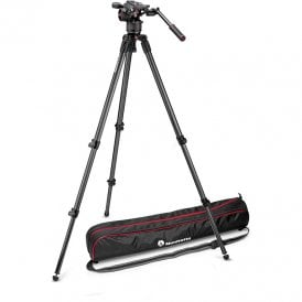 Fluid Video Head with 535 2 Stage Tripod