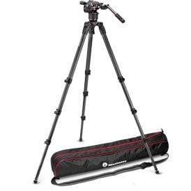 Fluid Video Head with 536 3 Stage Tripod