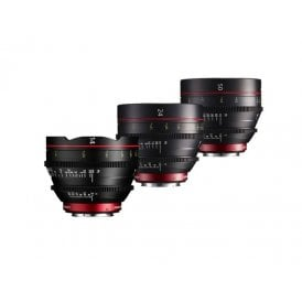 Canon E Prime Lens 3 Set (14, 24 and 50mm)