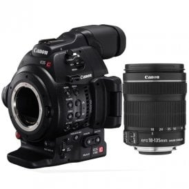 EOS C100 Mark II (18-135mm Lens Kits)